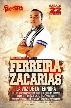 September 22th Zacarias Ferrerira