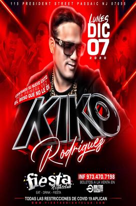 Monday Dic 7, 2020 Kiko Rodriguez