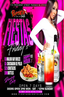 Fiestas Fridays