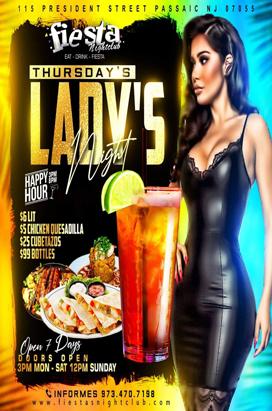 Thursdays Ladys Night