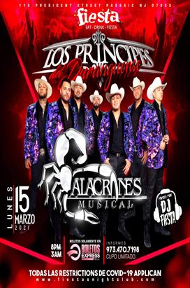 Monday, March 15, Alacranes Musicales