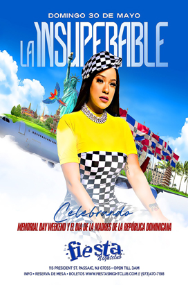 Sunday, May 30, 2021 La Insuperable