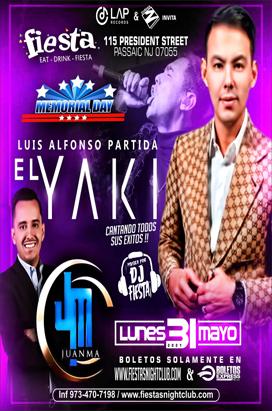 Monday, May 31, 2021 EL YAKI Juan Alfonso Partida