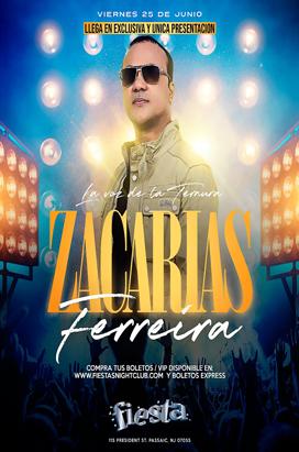 Friday, June 25 ZACARIAS FERREIRA