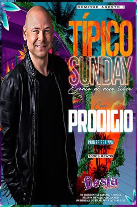 Sunday August 1st Prodigio
