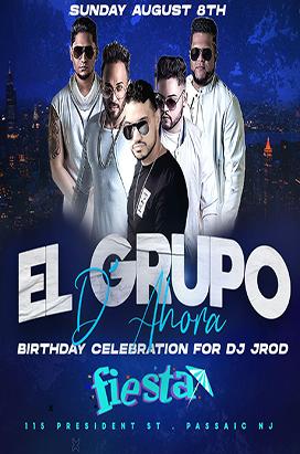 Sunday August 8th El Grupo D' Ahora