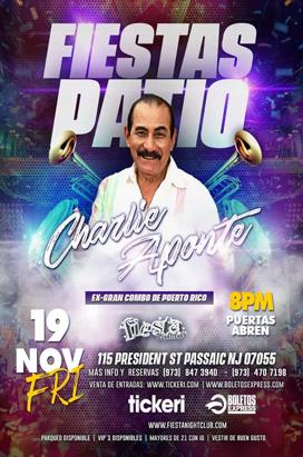 Friday, November 19, 2021 CHARLIE APONTE