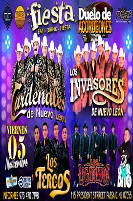 Friday, November 5, 2021 DUELO DE ACORDEONES